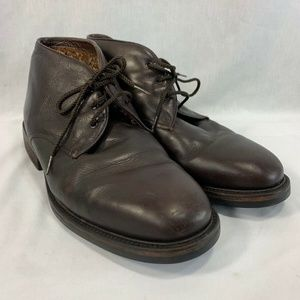 Cole Haan Chukka Ankle Boots Brown Leather